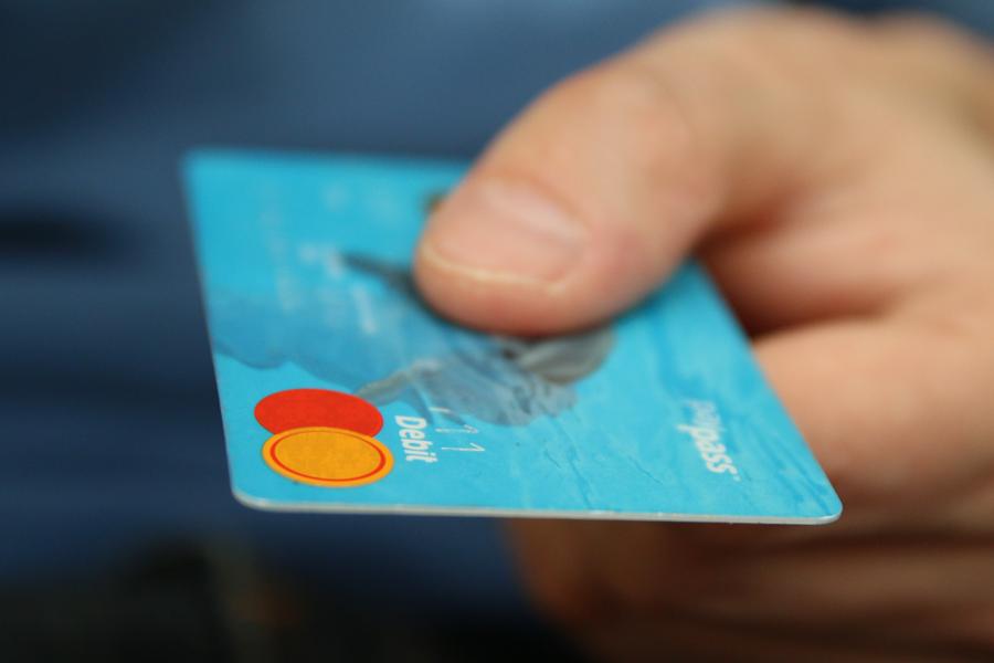 Paying using debit card