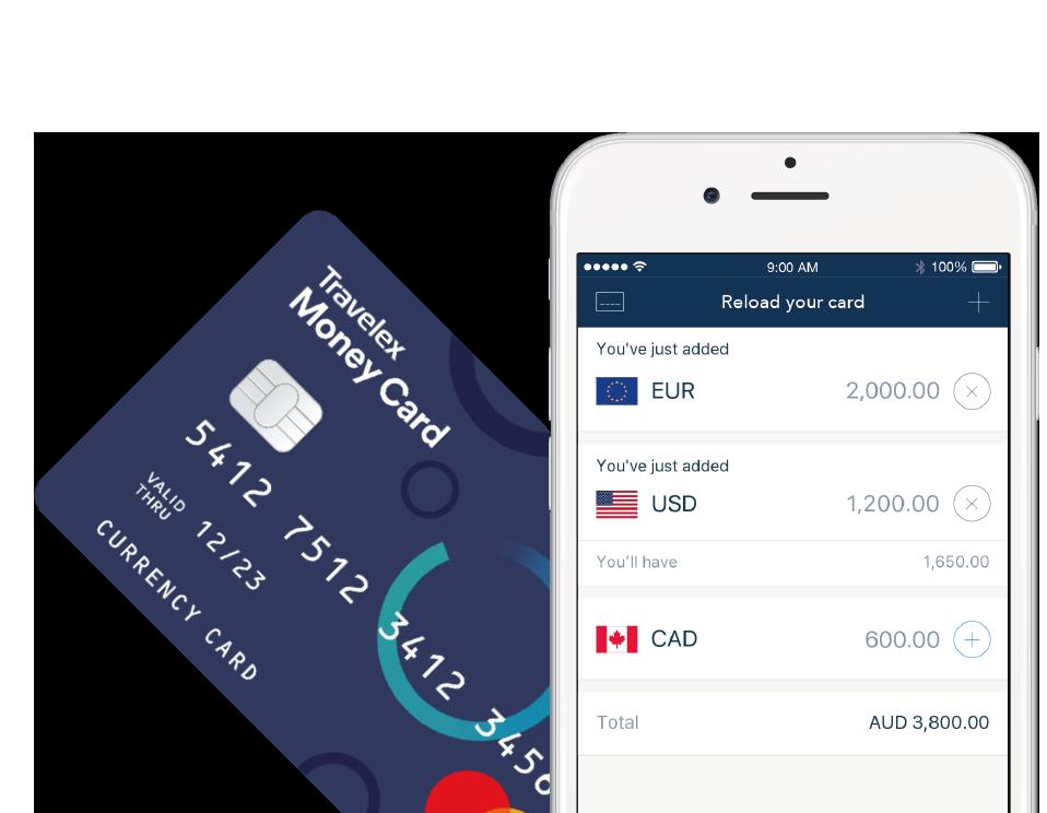 Travelex Travel Money Card
